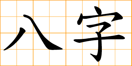 Chinese Eight Characters - the year, month, day and hour of a person's birth