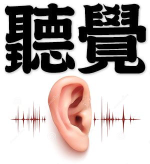 hearing, auditory sense, sense of hearing
